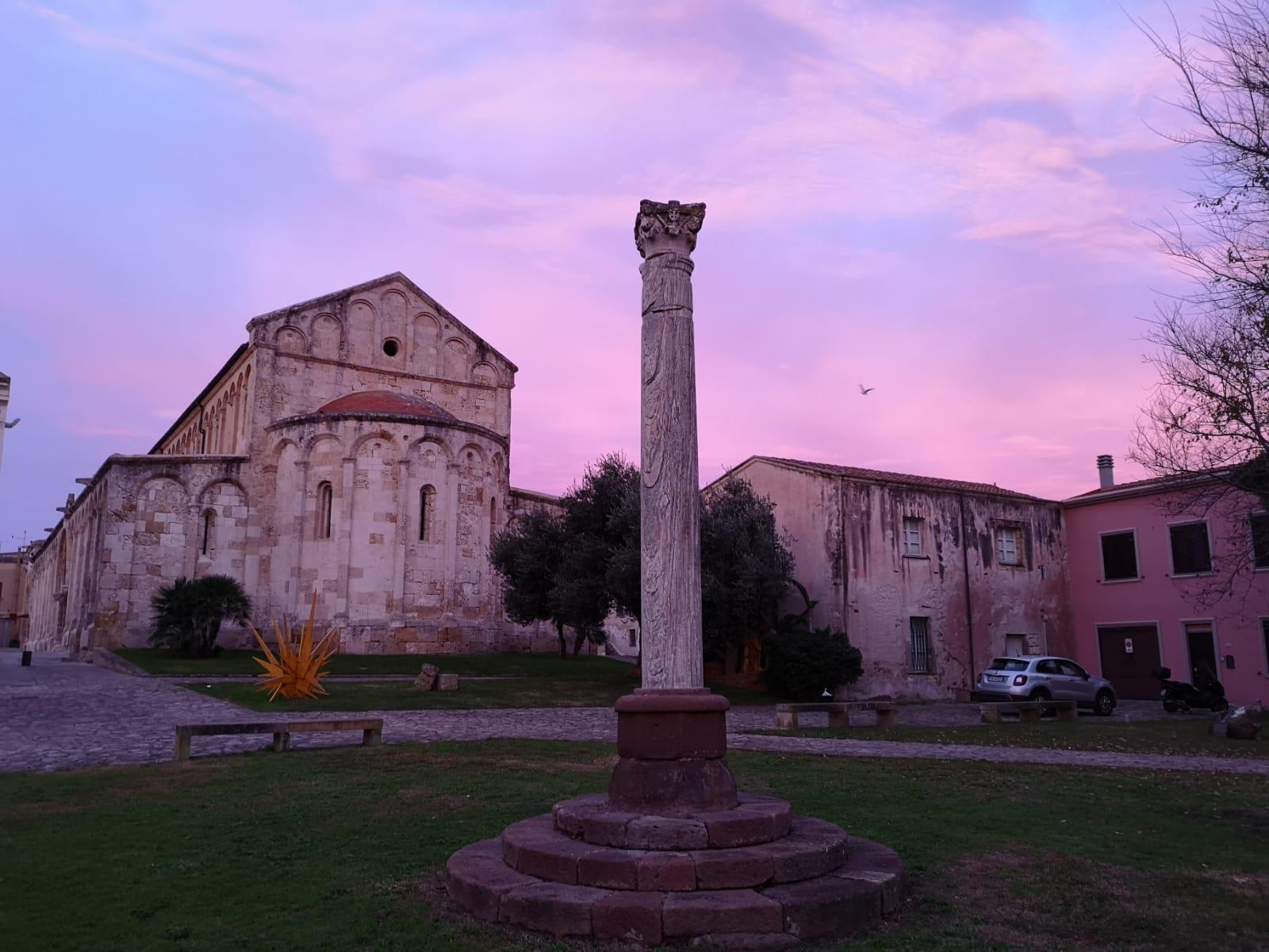 basilica all'alba