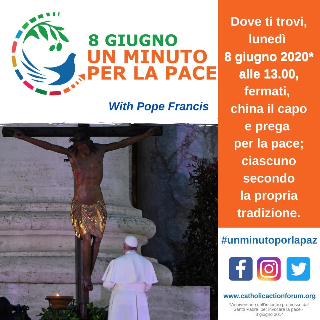 Un minuto per la Pace 2020